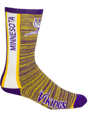 Vikings Heathered Crew Sock