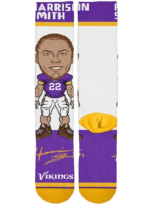 Vikings Signing Bonus Harrison Smith Socks