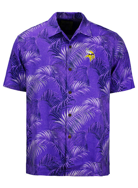 Tommy Bahama Vikings Fez Frounds Camp Shirt