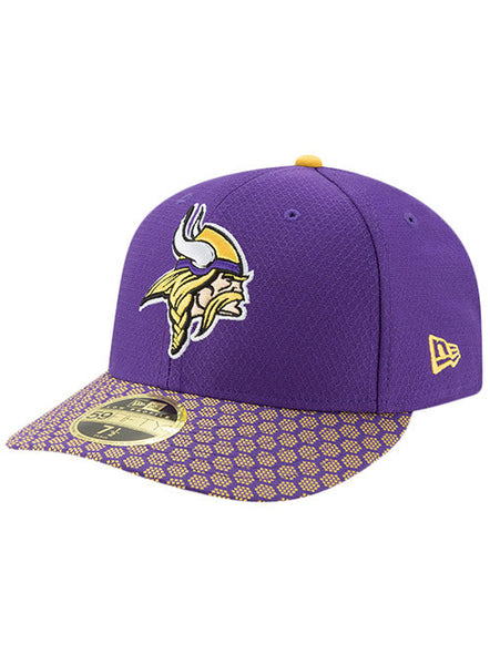 New Era Vikings 2017 Sideline Low Crown 59FIFTY Fitted Hat