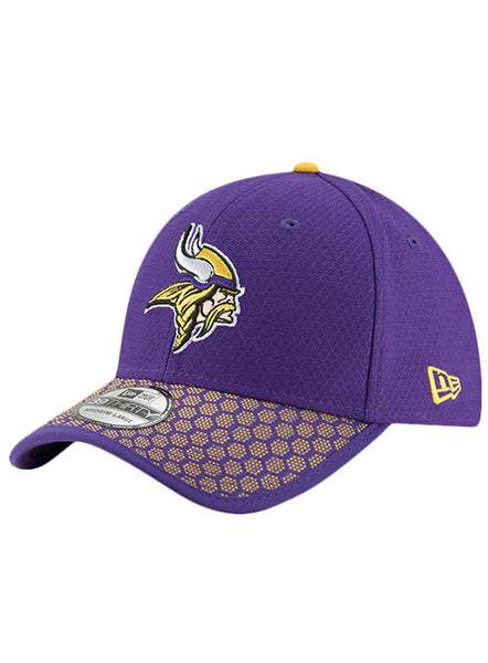New Era Vikings 2017 Sideline 39THIRTY Sideline Flex Hat