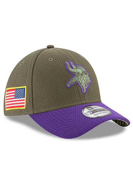 New Era Vikings Salute To Service 39THIRTY Flex Hat