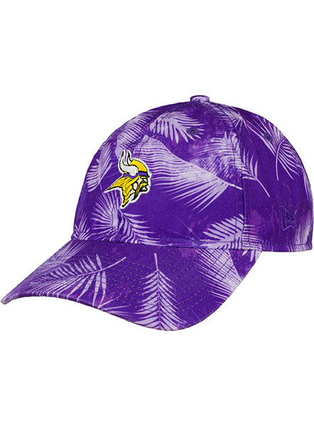 New Era Vikings Fronds Unstructured Adjustable Hat