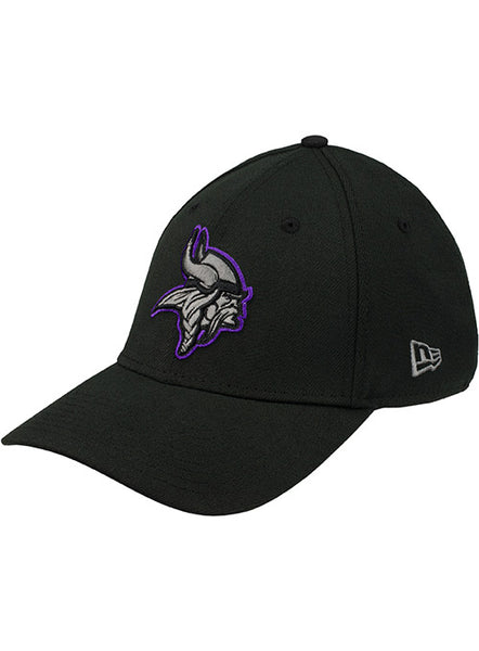 Men's Minnesota Vikings New Era Tonal/Black Logo 39THIRTY Flex Hat