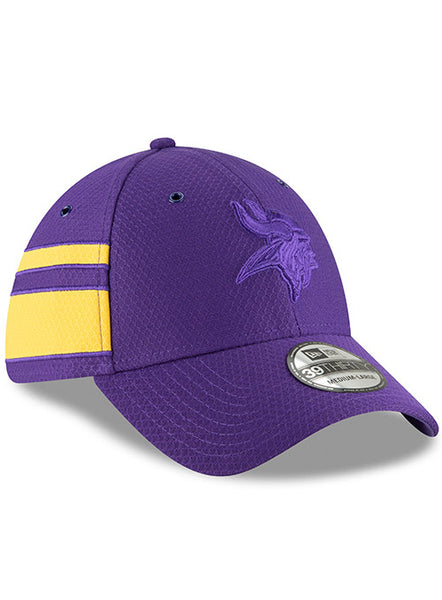 Men's Minnesota Vikings New Era Official 2018 Color Rush 39THIRTY Flex Hat