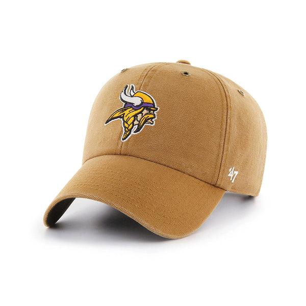 '47 Brand Vikings Carhartt Clean Up Hat