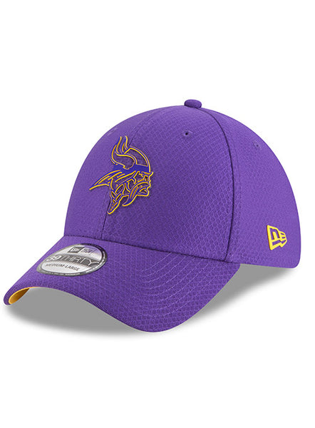 06680f00 Men's Purple Minnesota Vikings New Era 2018 Training Camp Official 39T |  Vikings Hats | Vikings Locker Room