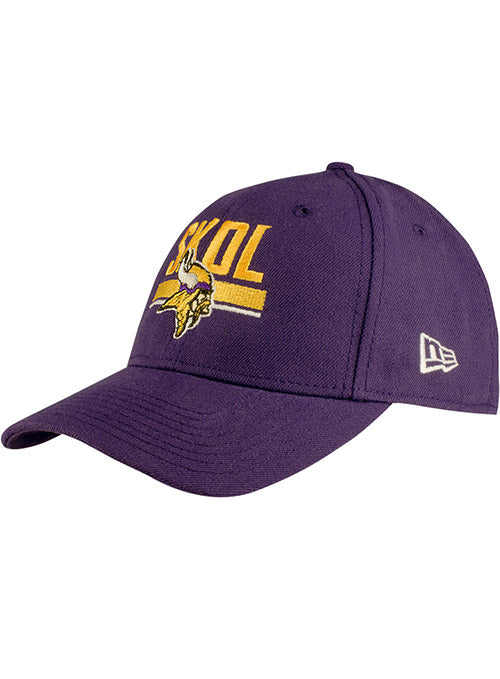 New Era Vikings SKOL 9FORTY Adjustable Hat