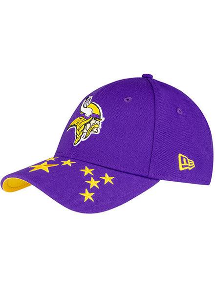 New Era Vikings 2019 NFL Draft 39Thirty Flex Hat