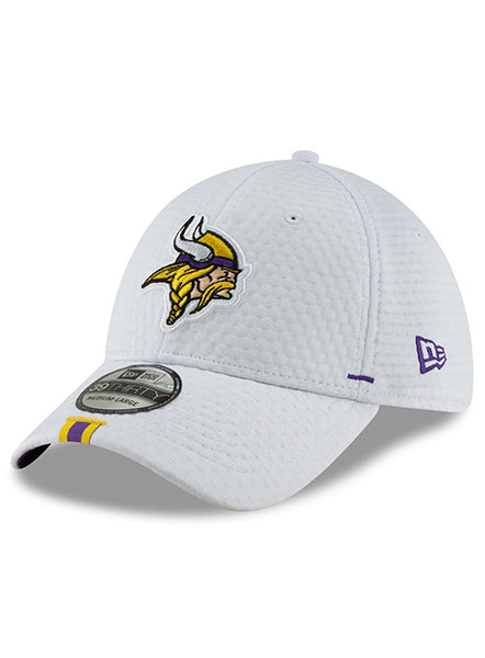 New Era Vikings 2019 Training Camp White 39THIRTY Flex Hat