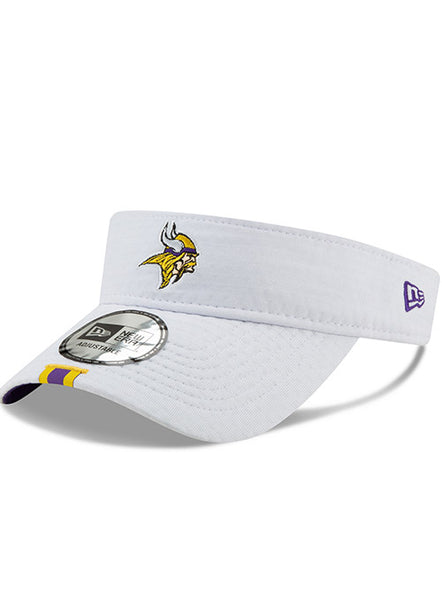 New Era Vikings 2019 White Training Visor