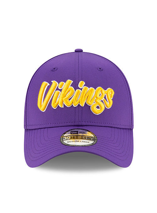 New Era 2019 Vikings Sideline Home 39Thirty Flex Hat