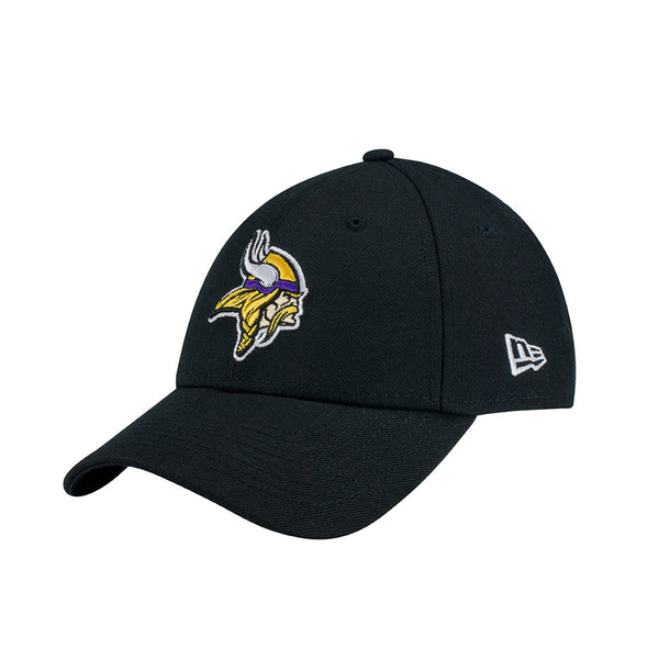 Vikings New Era 9FORTY Black Adjustable Hat