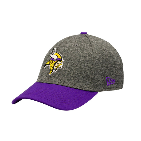 Vikings New Era Graphite Shadow Tech 39THIRTY Flex Hat