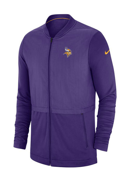 Nike Vikings  Sideline Full Zip Hybrid Jacket