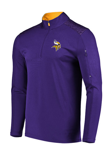 Majestic Vikings Ultra Streak 1/2 Zip Jacket