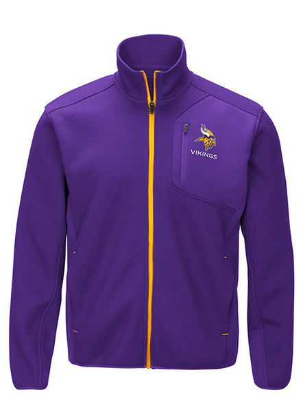 GIII Vikings Routine Full Zip Jacket