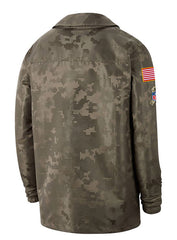 Nike Vikings 2019 Salute to Service Jacket