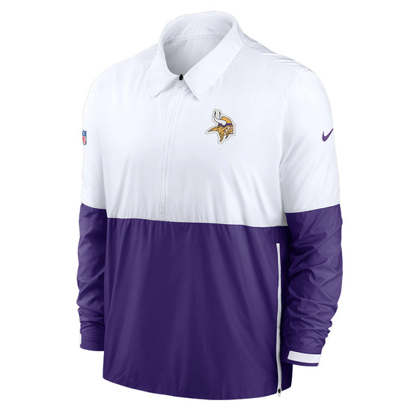 Nike Minnesota Vikings Sideline Coaches Half-Zip Jacket