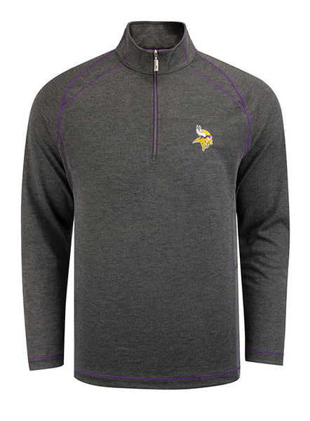Tommy Bahama Vikings Final Score Half Zip Jacket