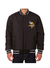 Vikings Reversible Wool Jacket