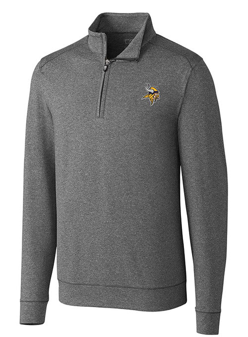Cutter & Buck Vikings Shoreline 1/2 Zip Jacket