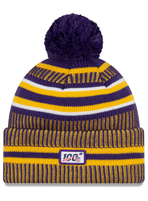 New Era Vikings 2019 Sideline Home Knit