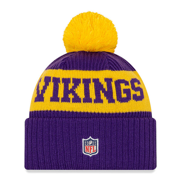 Vikings New Era 2020 Purple Sideline Knit