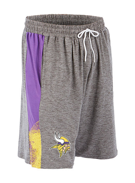 Zubaz Vikings Space Dye Short
