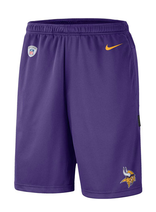 Nike Vikings Men's Coaches Knit Shorts