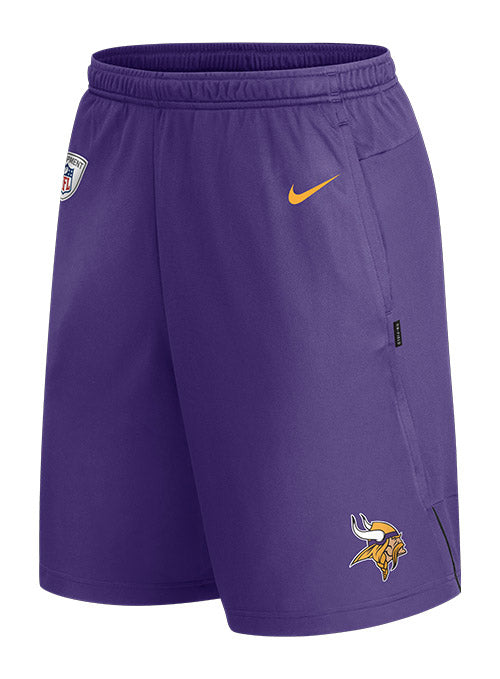 Nike Vikings Sideline Coaches Shorts