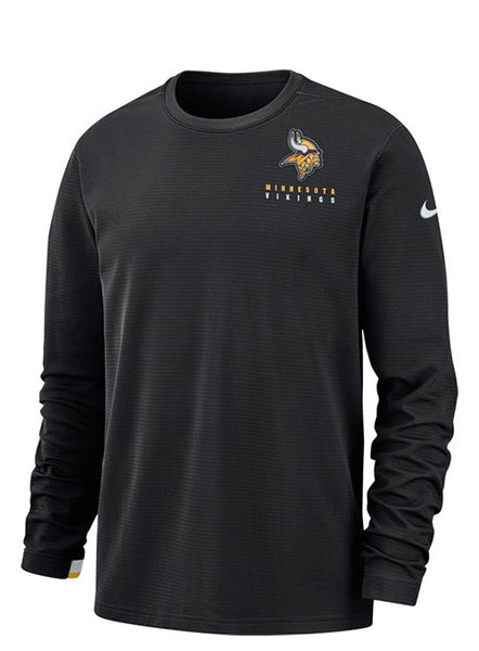 Nike Vikings Dry Top Crewneck Sweatshirt