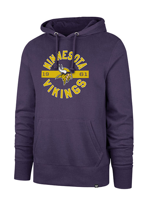 '47 Brand Vikings Established Date Headline Hooded Sweatshirt