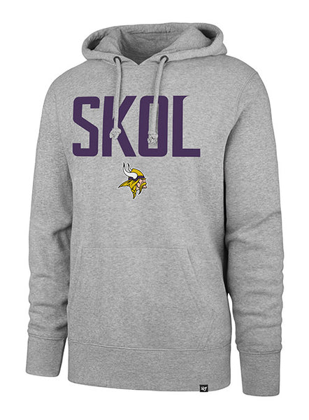 '47 Brand Vikings Skol Headline Hooded Sweatshirt