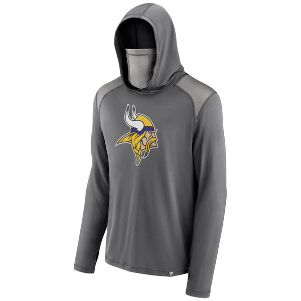 Vikings Transitional Haven Pullover Hoodie with Face Covering