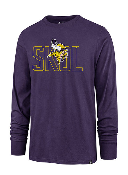 '47 Brand Vikings Outline Long Sleeve