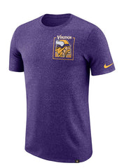 Nike Vikings Marled Stadium T-Shirt