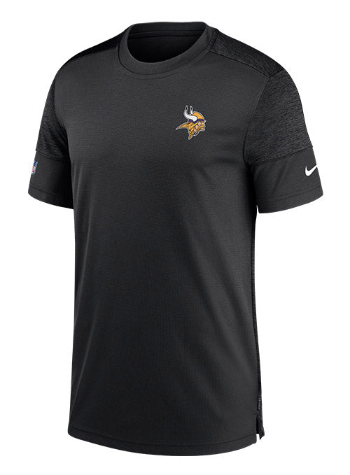 Nike Vikings Sideline Coaches UV Short Sleeve T-Shirt