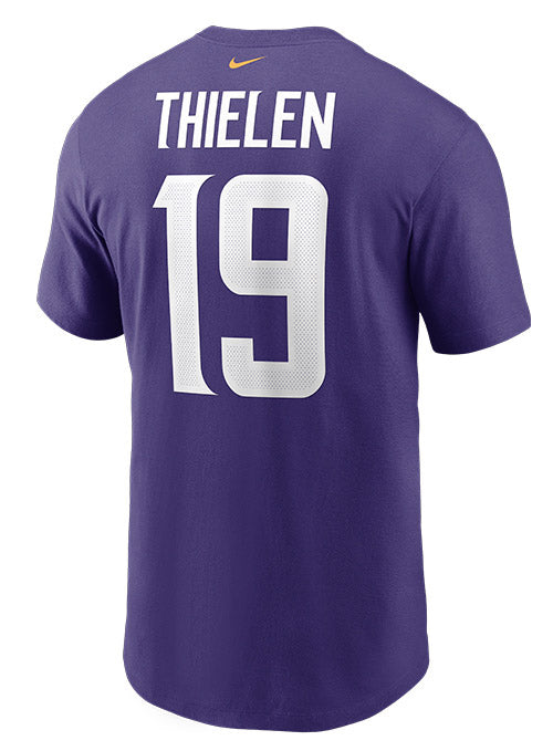 Nike Vikings Adam Thielen Name & Number T-Shirt