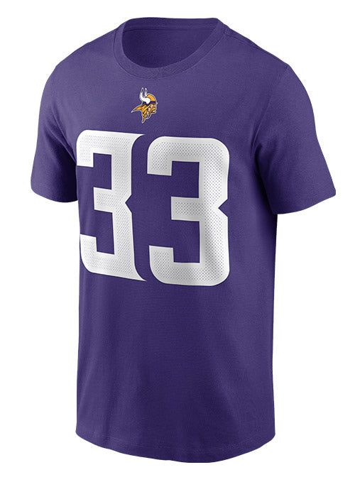 Nike Vikings Dalvin Cook Name & Number T-Shirt