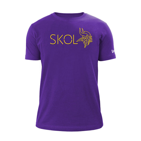 New Era Vikings Primetime Purple T-Shirt