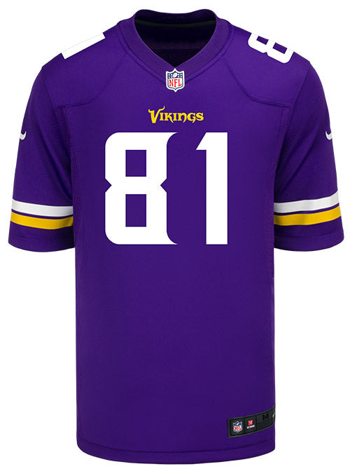 Men's Minnesota Vikings Olabisi Johnson Nike Purple Game Jersey