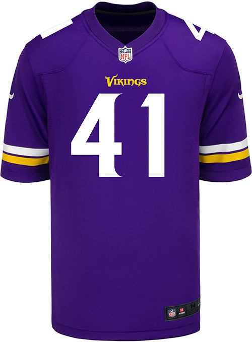 Men's Minnesota Vikings Anthony Harris Nike Purple Game Jersey
