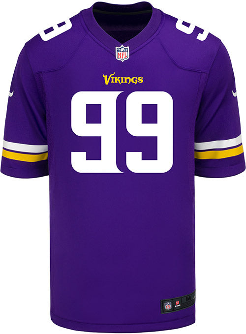 Men's Minnesota Vikings Danielle Hunter Nike Purple Game Jersey