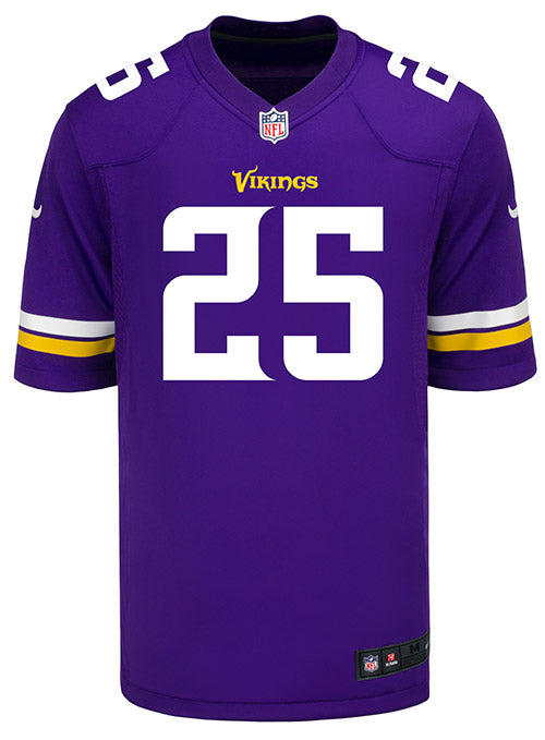 Men's Minnesota Vikings Alexander Mattison Nike Purple Game Jersey