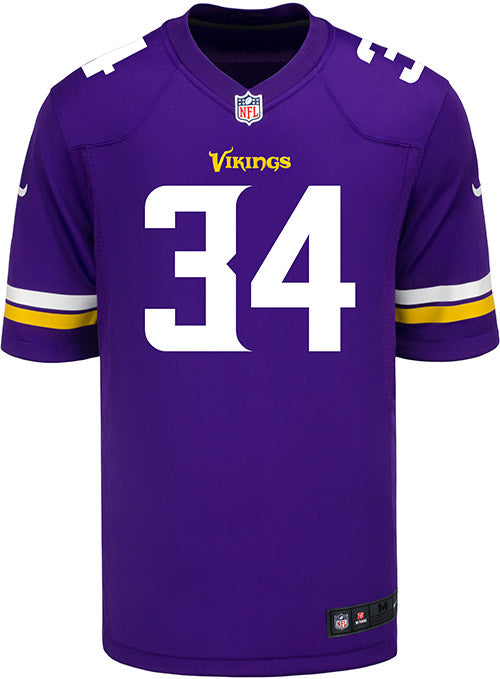 huge discount 89cbe fe4b3 Men's Minnesota Vikings Andrew Sendejo Nike Purple Game Jersey | Men's  Vikings Jerseys | Vikings Locker Room