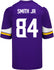 Men's Minnesota Vikings Irv Smith Jr. Nike Purple Game Jersey