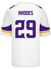 Men's Minnesota Vikings Xavier Rhodes Nike White Game Jersey