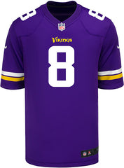 Men's Minnesota Vikings Kirk Cousins Nike Purple Game Jersey