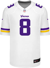 Men's Minnesota Vikings Kirk Cousins Nike White Game Jersey